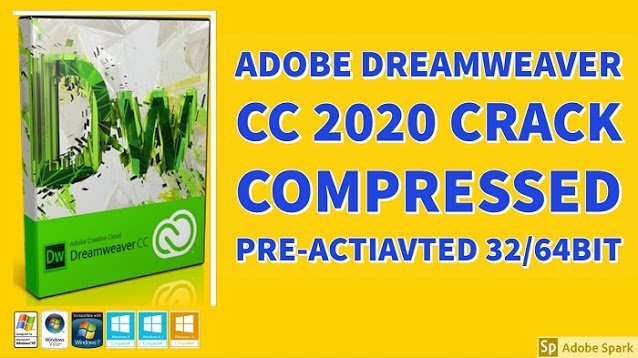Adobe Dreamweaver 2020 Compressed Preactivated Download