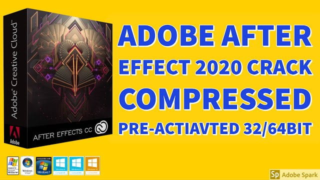 Adobe After Effects CC 2020 Compressed Preactivated ISO