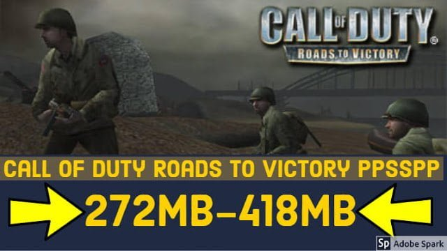 Call of Duty Roads to Victory PPSSPP Compressed in Just 272MB