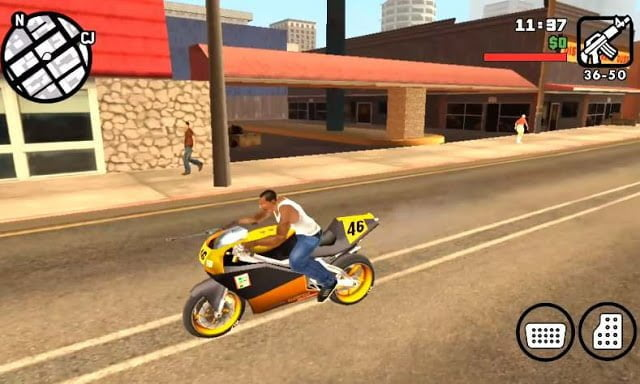 GTA San Andreas Highly Compressed 50mb For Android 200% Working