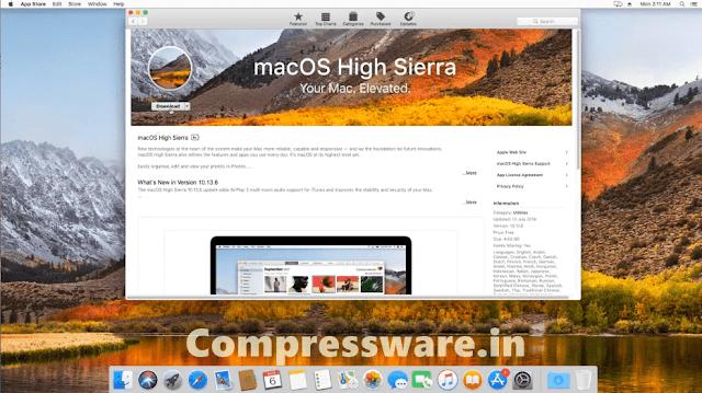 Download Mac OS High Sierra 10.13 ISO DMG Vmdk For Free