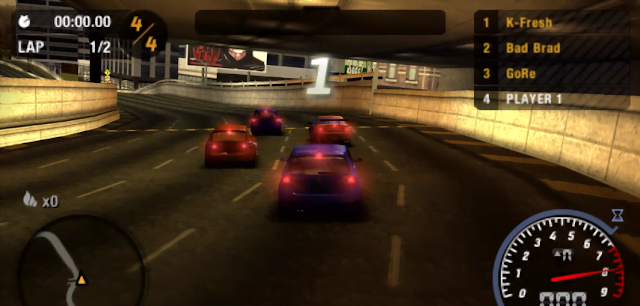 NFS Most Wanted Highly Compressed 10mb for Android ppsspp