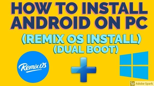 Remix OS ISO 32/64bit Download Complete Easy Installation
