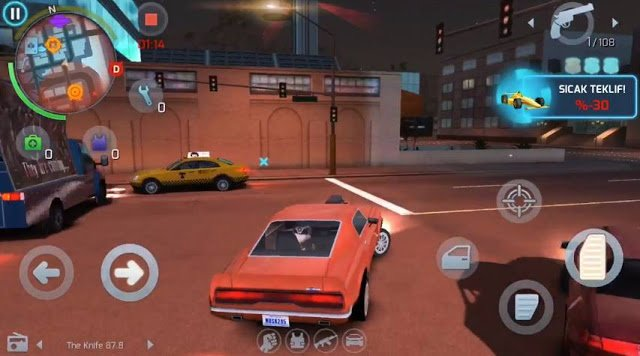 Gangstar Vegas Highly Compressed Android Game All Unlocked
