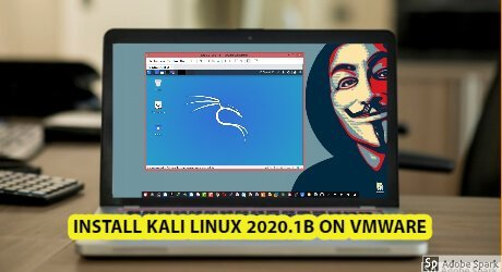 How to install Kali linux 2020.1b on VMWare in Just 1min