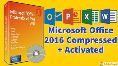 Microsoft Office 2016 Highly Compressed Pre-Activated ISO 2021